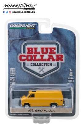 GMC  - Vandura 1972 yellow - 1:64 - GreenLight - 35100C - gl35100C | The Diecast Company