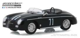 Porsche  - 356 Speedster Super 1958 black - 1:43 - GreenLight - 86538 - gl86538 | The Diecast Company