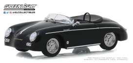 Porsche  - 356 Speedster Super 1958 black - 1:43 - GreenLight - 86539 - gl86539 | The Diecast Company