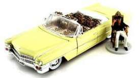 Cadillac  - Series 62 *Scarface* 1963 yellow - 1:24 - Jada Toys - jada99734 | The Diecast Company