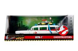 Cadillac  - Ecto-1 Ghostbusters 1959 white/red - 1:24 - Jada Toys - jada99731 | The Diecast Company
