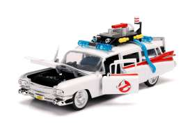 Cadillac  - Ecto-1 Ghostbusters 1959 white/red - 1:24 - Jada Toys - 99731 - jada99731 | The Diecast Company