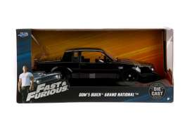 Buick  - Grand National F&F 1987 black - 1:24 - Jada Toys - 99539 - jada99539 | The Diecast Company
