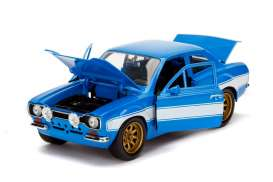 Ford  - Escort MKI F&F blue/white - 1:24 - Jada Toys - 99572 - jada99572 | The Diecast Company