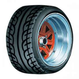 Wheels & tires Rims & tires - 1:24 - Aoshima - abk155458 | The Diecast Company