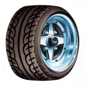 Wheels & tires Rims & tires - 1:24 - Aoshima - abk155472 | The Diecast Company