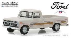 Ford  - F-100 1976 wimbledon white - 1:64 - GreenLight - 29965 - gl29965 | The Diecast Company