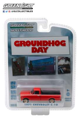 Chevrolet  - C-10 1971 red - 1:64 - GreenLight - 44810C - gl44810C | The Diecast Company