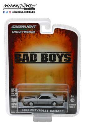 Chevrolet  - Camaro *Bad Boys* 1968 grey - 1:64 - GreenLight - 44810D - gl44810D | The Diecast Company