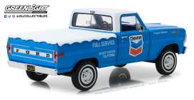 Ford  - F-100 1972 blue/white - 1:24 - GreenLight - 85013 - gl85013 | The Diecast Company