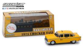 Checker  - 1975 yellow - 1:43 - GreenLight - 86532 - gl86532 | The Diecast Company