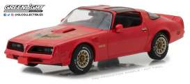 Pontiac  - Firebird Trans Am 1977 firethorn red - 1:43 - GreenLight - 86330 - gl86330 | The Diecast Company
