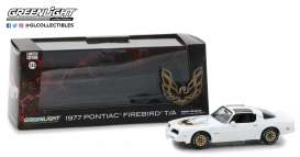 Pontiac  - Firebird Trans Am 1977 cameo white - 1:43 - GreenLight - gl86331 | The Diecast Company