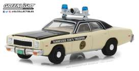 Plymouth  - Fury Police 1977  - 1:64 - GreenLight - 42850A - gl42850A | The Diecast Company
