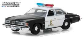 Pontiac  - LeMans Police 1977  - 1:64 - GreenLight - 42850B - gl42850B | The Diecast Company