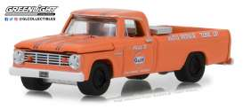 Dodge  - D-100 1965 orange - 1:64 - GreenLight - 41060B - gl41060B | The Diecast Company