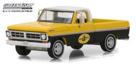 Ford  - F-100 1972 yellow/black - 1:64 - GreenLight - 41060D - gl41060D | The Diecast Company