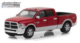Ram  - 2500 Big Horn 2018 case IH red - 1:64 - GreenLight - 29953 - gl29953 | The Diecast Company