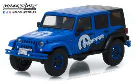 Jeep  - Wrangler Unlimited 2012 blue - 1:43 - GreenLight - 86099 - gl86099 | The Diecast Company