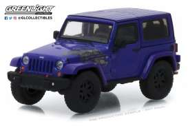 Jeep  - Wrangler  2017 extreme purple - 1:43 - GreenLight - 86151 - gl86151 | The Diecast Company