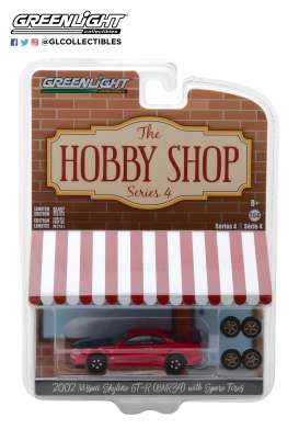 Nissan  - Skyline GT-R R34 2002  - 1:64 - GreenLight - 97040E - gl97040E | The Diecast Company