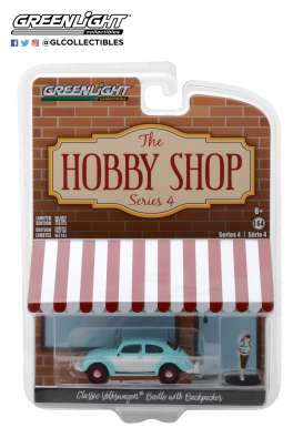 Volkswagen  - Beetle  1962  - 1:64 - GreenLight - 97040F - gl97040F | The Diecast Company