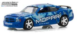 Dodge  - Charger SRT8 2008 blue/ light blue - 1:64 - GreenLight - 29961 - gl29961 | The Diecast Company