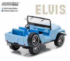Jeep  - CJ-5 sierra blue - 1:64 - GreenLight - gl29955 | The Diecast Company