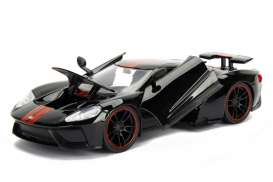 Ford  - GT 2005 black/red - 1:24 - Jada Toys - jada99388bk | The Diecast Company