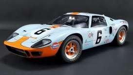 Ford  - GT40 MKI #9 1968 gulf blue/orange - 1:12 - Acme Diecast - M1201004 - acmem1201004 | The Diecast Company