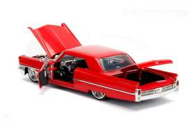 Cadillac  - Hard Top 1963 red - 1:24 - Jada Toys - 99551 - jada99550r | The Diecast Company