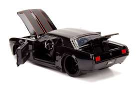 Ford  - Mustang hard top 1965 black - 1:24 - Jada Toys - 99967bk - jada99967bk | The Diecast Company
