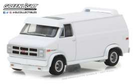 GMC  - Vandura 1983 white - 1:64 - GreenLight - gl29939 | The Diecast Company