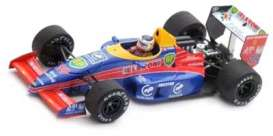 Lola  - 1988 red/blue - 1:43 - Spark - s5321 - spas5321 | The Diecast Company