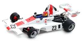 Hill  - 1975 white/red - 1:43 - Spark - s5672 - spas5672 | The Diecast Company