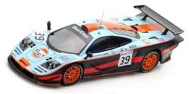 McLaren  - 1997 blue/orange/black - 1:43 - Spark - s5082 - spas5082 | The Diecast Company