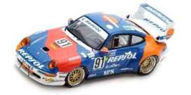 Porsche  - 1995 blue/red/orange - 1:43 - Spark - s5512 - spas5512 | The Diecast Company