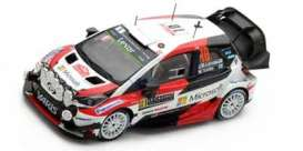 Toyota  - Yaris WRC #10 2017 white/black/red - 1:43 - Spark - s5163 - spas5163 | The Diecast Company