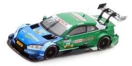 Audi  - 2017 blue/green - 1:43 - Spark - SG343 - spaSG343 | The Diecast Company