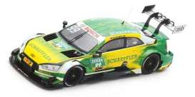 Audi  - 2017 yellow/green - 1:43 - Spark - SG345 - spaSG345 | The Diecast Company