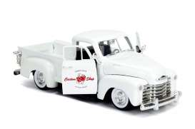 Chevrolet  - pick-up 1953 pearl white - 1:24 - Jada Toys - 99177 - jada99177w | The Diecast Company