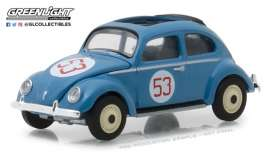 Volkswagen  - Beetle Split Window 1954 blue - 1:64 - GreenLight - gl29920A | The Diecast Company