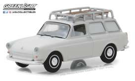 Volkswagen  - Type 3 Panel Van 1963 white - 1:64 - GreenLight - gl29920B | The Diecast Company