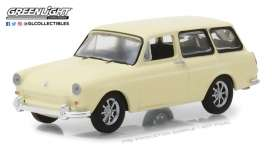 Volkswagen  - T3 Squareback 1966 cream - 1:64 - GreenLight - 29920D - gl29920D | The Diecast Company