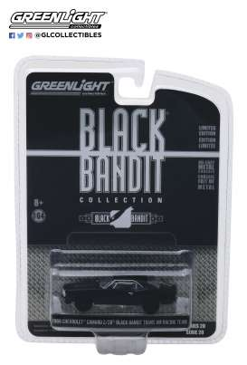 Chevrolet  - Camaro Z/28 TA Racing 1969 black - 1:64 - GreenLight - gl27960B | The Diecast Company