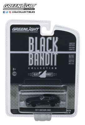 Datsun  - 240Z 1971 black - 1:64 - GreenLight - 27960C - gl27960C | The Diecast Company