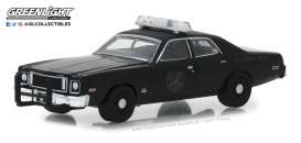 Plymouth  - Fury 1975 black - 1:64 - GreenLight - 27960D - gl27960D | The Diecast Company