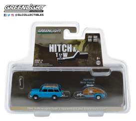 Volkswagen  - T3 Squareback 1961 blue - 1:64 - GreenLight - 32140A - gl32140A | The Diecast Company