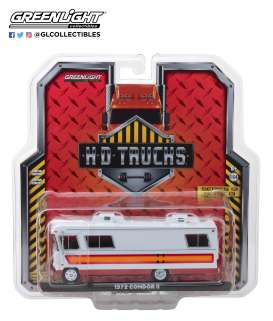 Condor  - II RV 1972 white/orange/red - 1:64 - GreenLight - 33130B - gl33130B | The Diecast Company
