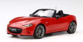 Mazda  - Roadster 2017 classic red - 1:18 - Kyosho - kyoKSR18009cr | The Diecast Company
